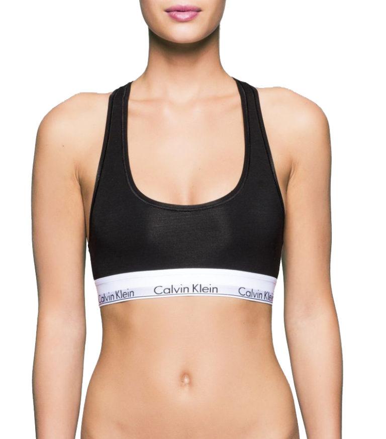 d9a27325ce Calvin Klein černá sportovní podprsenka Bralette - Spodní Prádlo ...