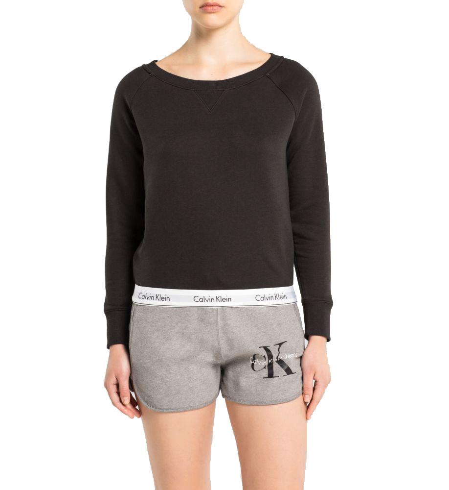 9bdd9005fc Calvin Klein černá dámská mikina Top Sweatshirt - Spodní Prádlo ...