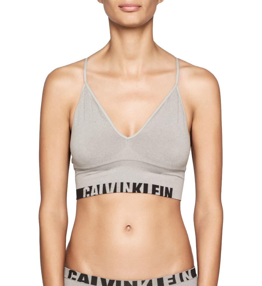 Pohodlná a stylovádámská bezešvá podprsenka Calvin Kleinznové kolekce