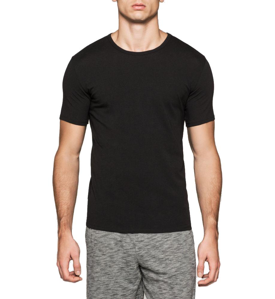 4ae9bcc6da Praktický dvojpack černých pánských triček od značky Calvin Klein