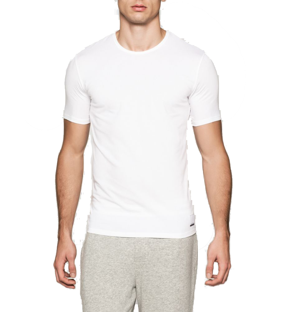 Originálnídvojpack bílých pánských triček od značky Calvin Klein