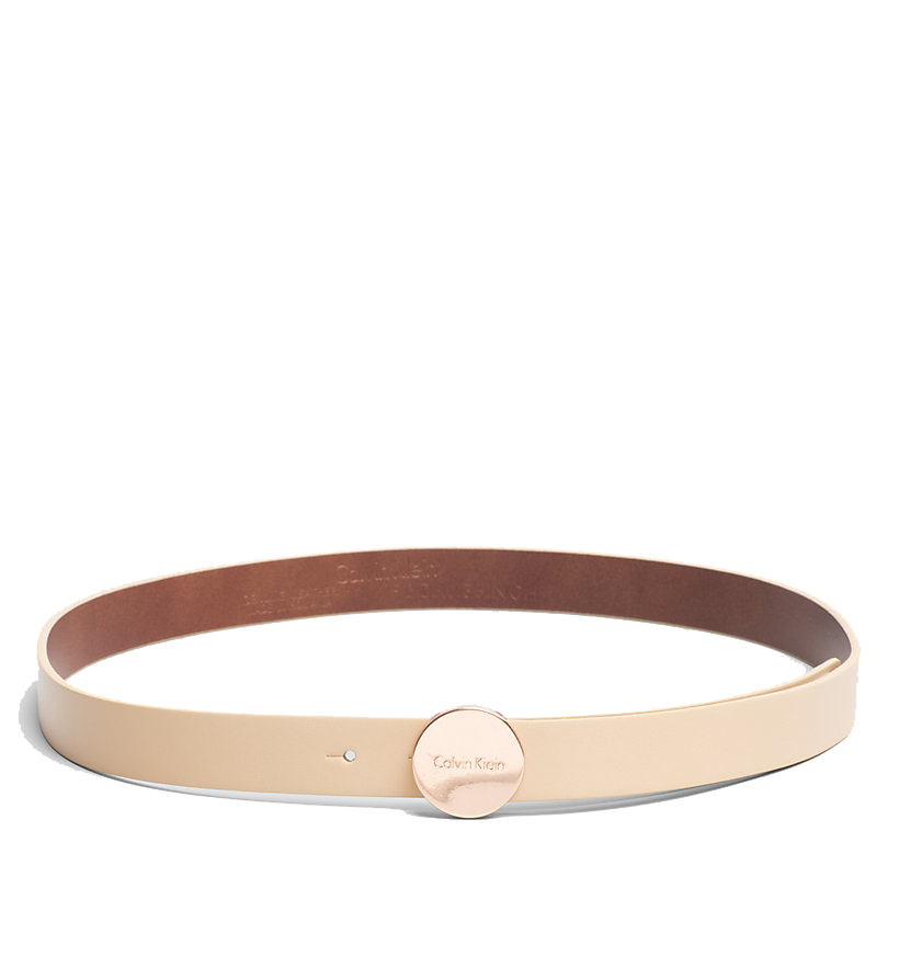 07dd908282 Dámský kožený pásek od značky Calvin Klein z kolekce jaro léto 2017